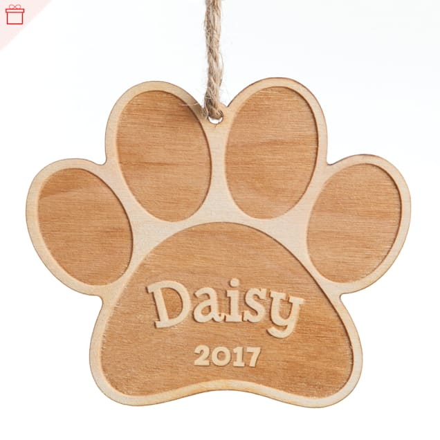 Custom Personalization Solutions Personalized Special Dog Wood Ornament - Carousel image #1