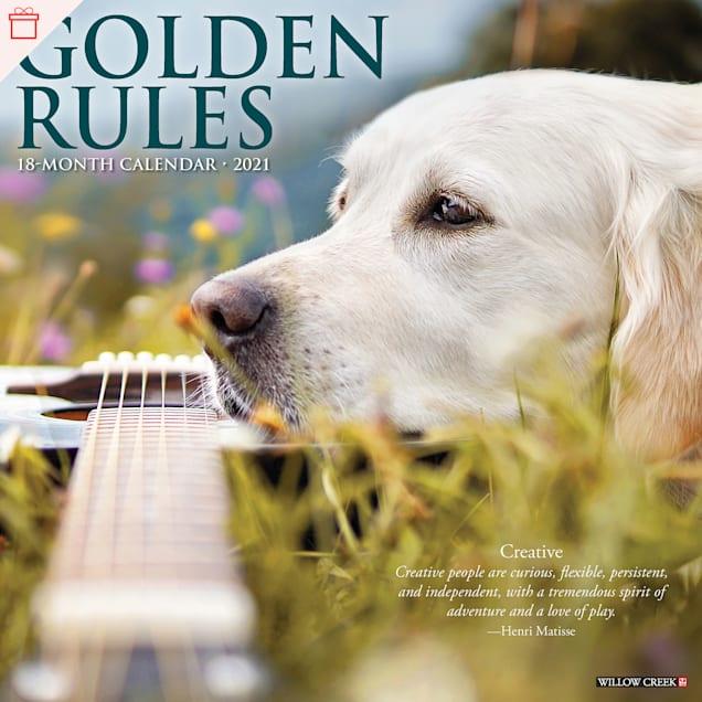 Willow Creek Press Golden Rules 2021 Calendar, Large - Carousel image #1