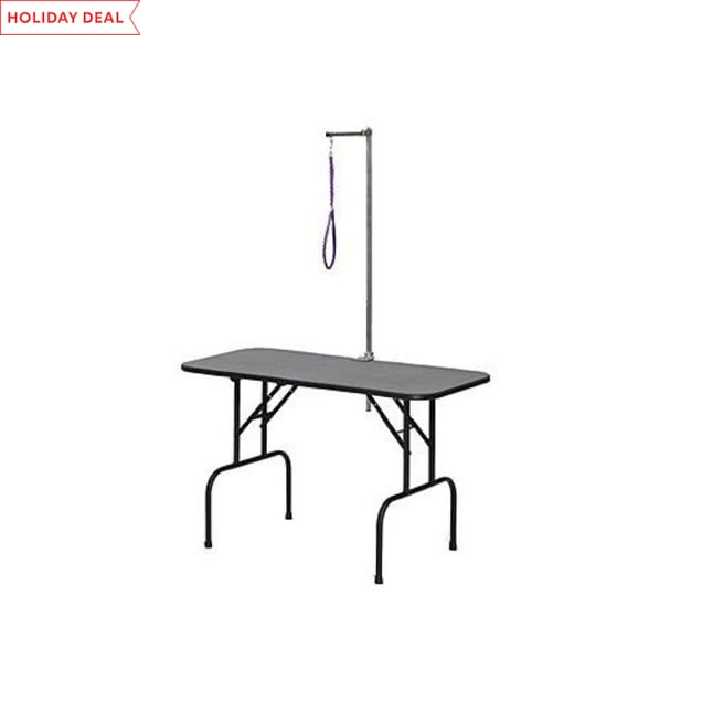 """Midwest 48"""" Plywood Grooming Table with Arm - Carousel image #1"""