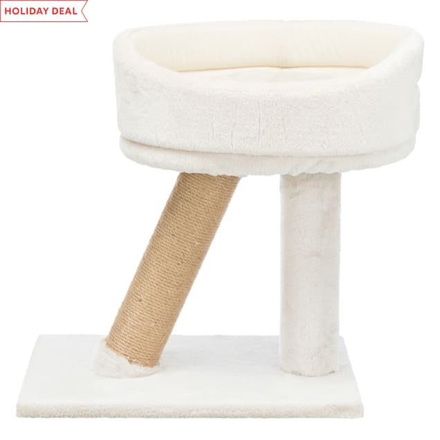 """Trixie DreamWorld Cabra Cat Scratching Post & Bed, 19.5"""" H - Carousel image #1"""