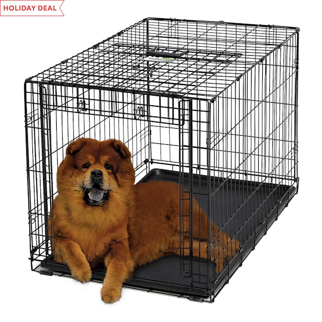 "Midwest Ovation Single Door Folding Dog Crate, 38""L X 23"" W X 25"" H - Carousel image #1"