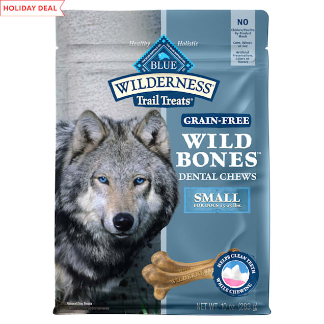 Blue Buffalo Blue Wilderness Wild Bones Small Dog Chews, 10 oz. - Carousel image #1