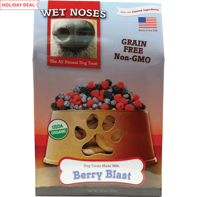 Wet Noses Grain Free Berry Blast Dog Treats, 14 oz. - Carousel image #1