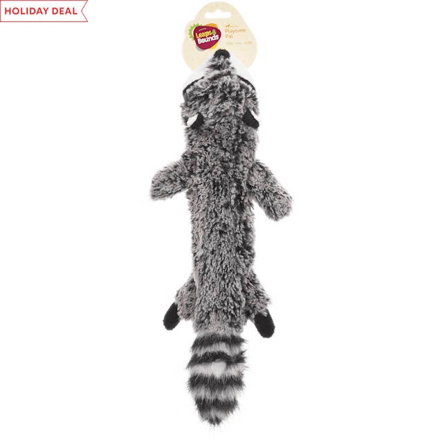Leaps & Bounds Small Wildlife Unstuffed Raccoon Toy - Carousel image #1