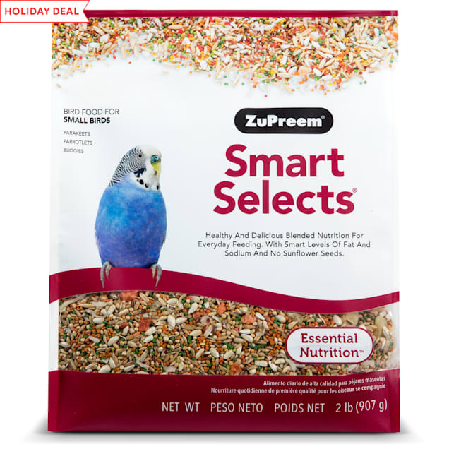 ZuPreem Smart Selects Parakeet Diet, 2 lbs. - Carousel image #1
