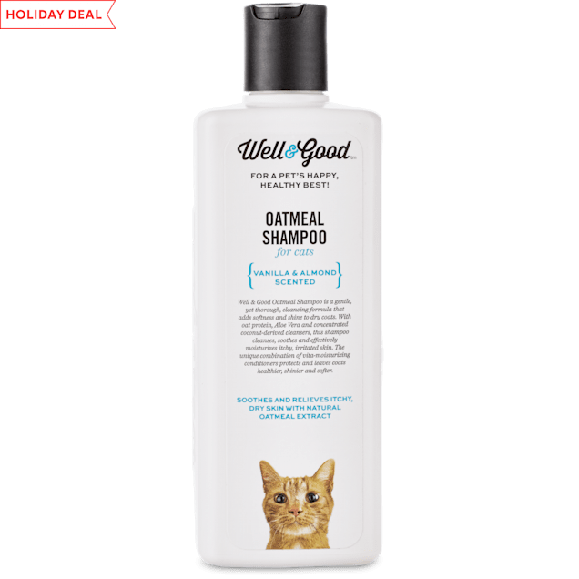 Well & Good Oatmeal Cat Shampoo, 8 oz. - Carousel image #1