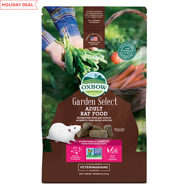 Oxbow Garden Select Fortified Food for Rats, 2.5 lbs. - Carousel image #1