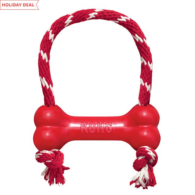 KONG Goodie Bone Rope Dog Toy, X-Small - Carousel image #1