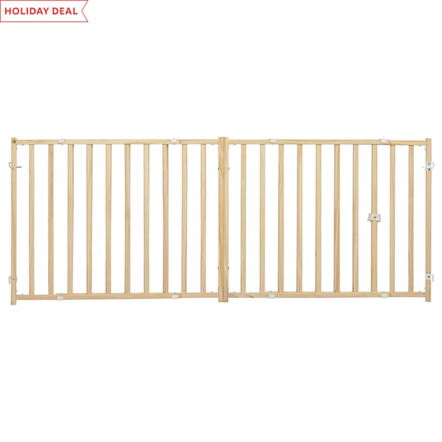 """Midwest ExtraWide Swing Pet Safety Gate for Dogs, 24"""" H - Carousel image #1"""