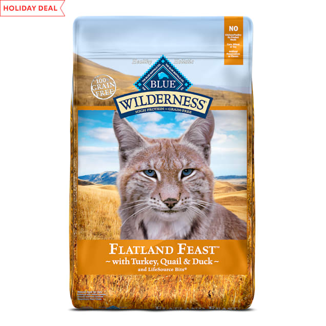 Blue Buffalo Blue Wilderness Regionals Flatland Feast  Dry Cat Food, 10 lbs. - Carousel image #1