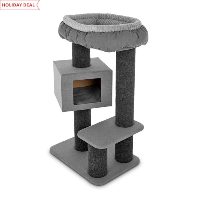 "You & Me Afternoon Abode Cat Tree, 45"" H - Carousel image #1"