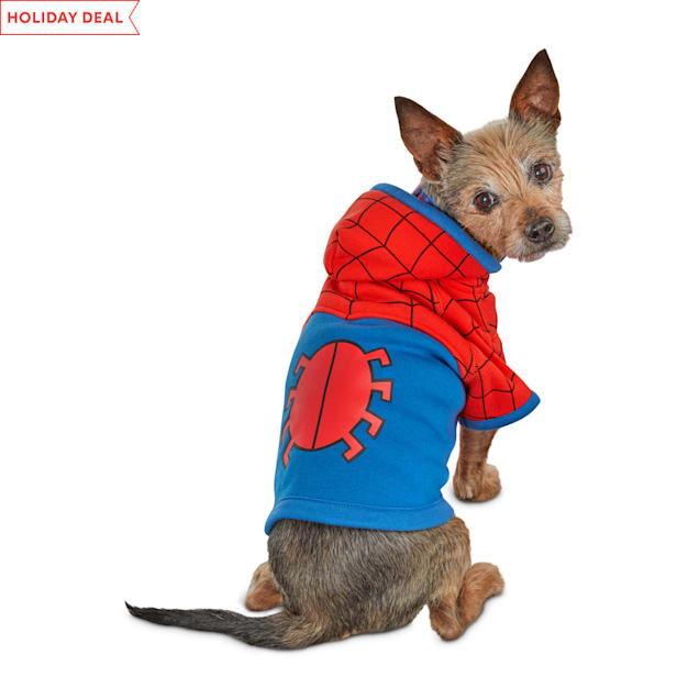 Marvel Spider-Man Dog Hoodie, X-Small - Carousel image #1