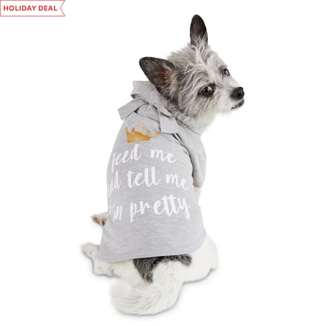 Bond & Co. Pretty Princess Dog T-Shirt, XX-Small - Carousel image #1