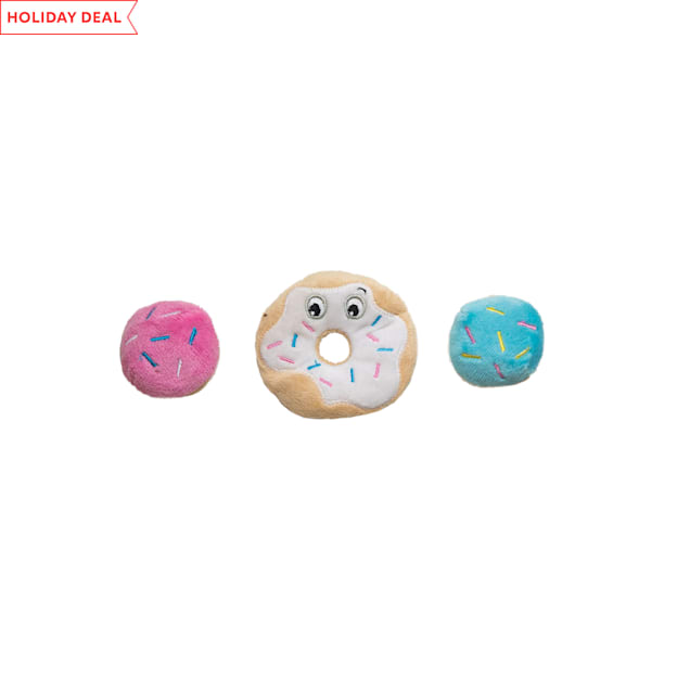 Petstages Donut Cat Toys, Small, Pack of 3 - Carousel image #1