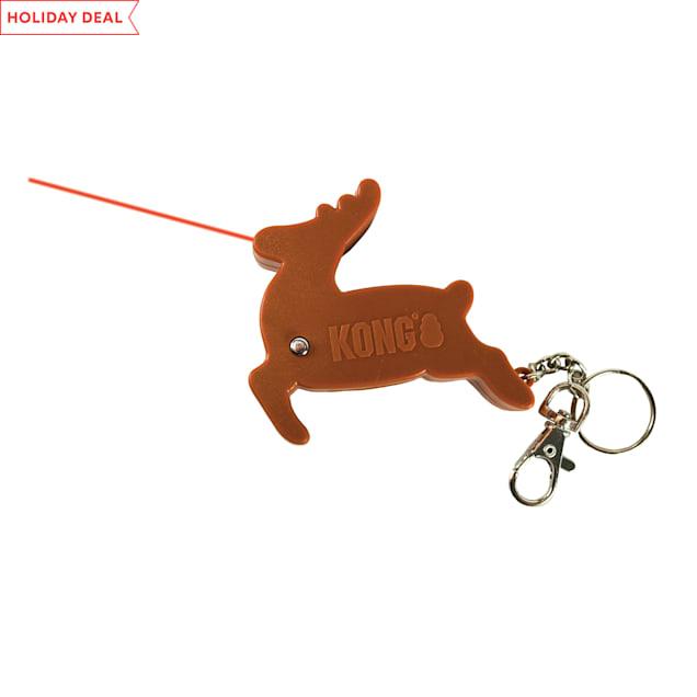 KONG Holiday Laser Reindeer Cat Toys - Carousel image #1