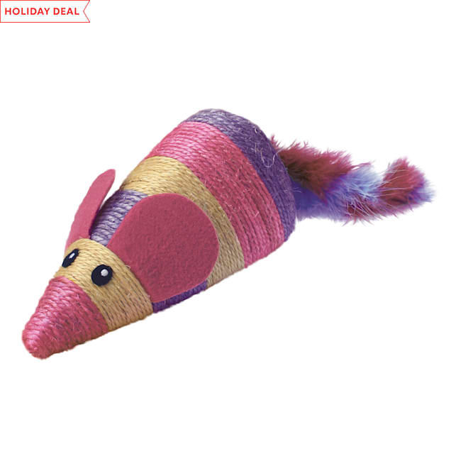 KONG Wrangler Scratch Mouse Cat Toy - Carousel image #1