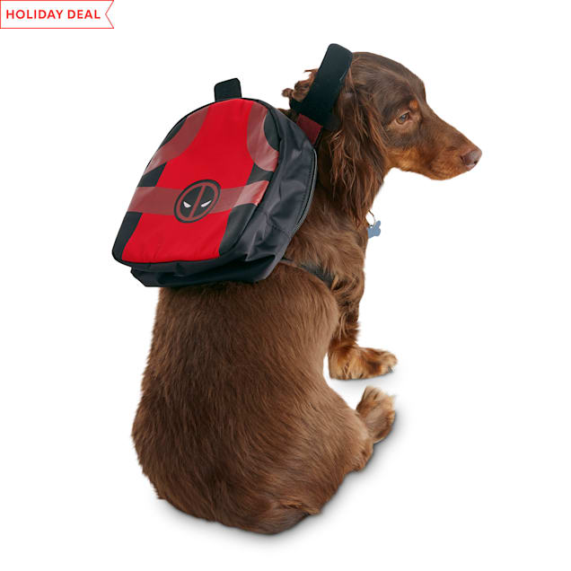 Marvel Deadpool Dog Backpack, X-Small/Small - Carousel image #1