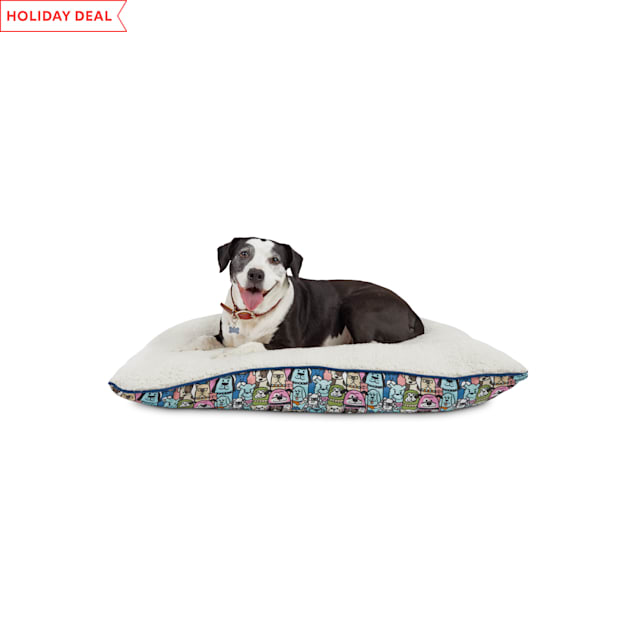 "BOBS from Skechers Doggie Crowd Dog Lounger Bed, 40"" L X 30"" W - Carousel image #1"