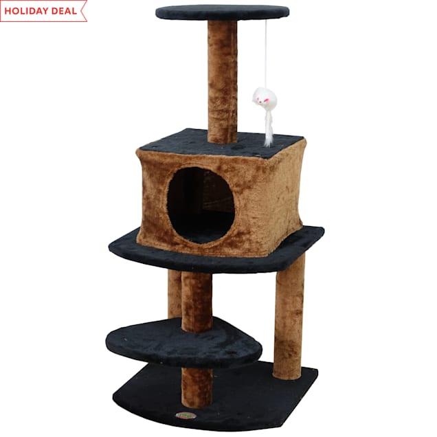 "Go Pet Club Kitten Tree Condo F705, 40"" H - Carousel image #1"