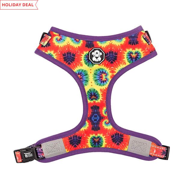Fresh Pawz The Tie-Dye Adjusable Mesh Dog Harness, Small - Carousel image #1