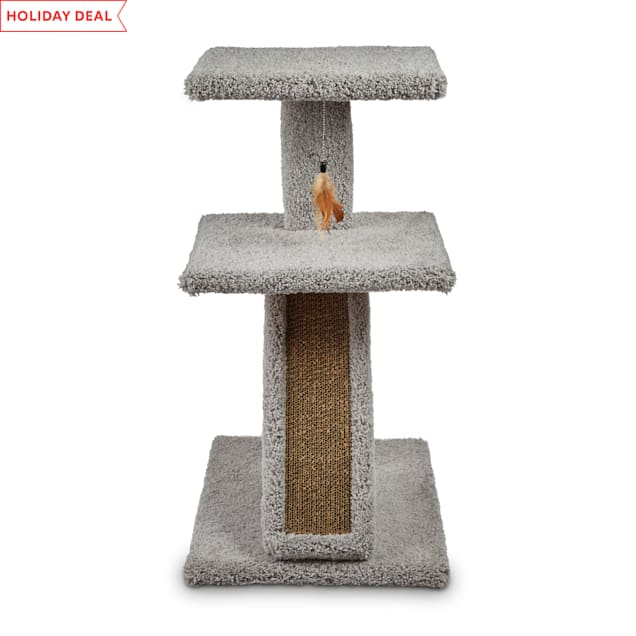 "EveryYay Lookout Loft 2-Level Cat Tree with Ramp, 21.5"" L X 17.5"" W X 32"" H - Carousel image #1"
