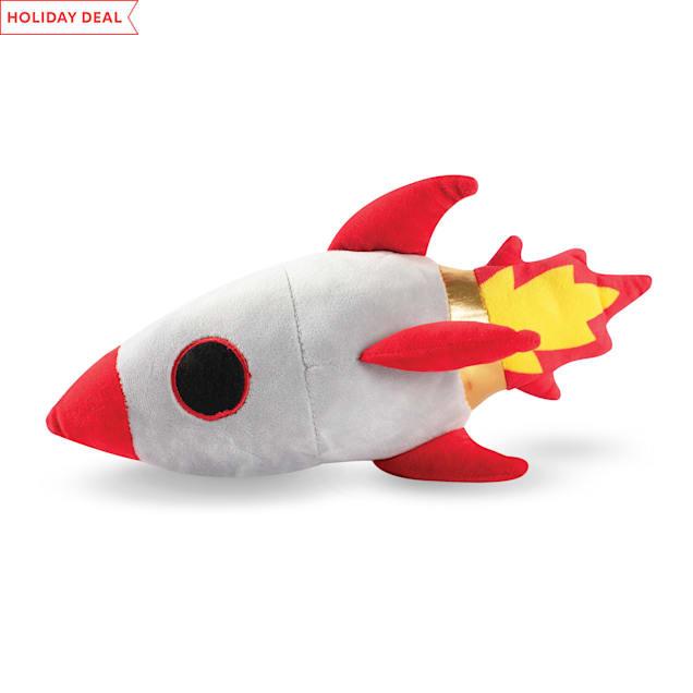PetShop by Fringe Studio Rocket Ship Plush Dog Toy - Carousel image #1