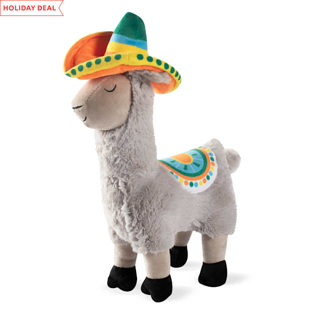 PetShop by Fringe Studio Llama Party Time Plush Dog Toy - Carousel image #1