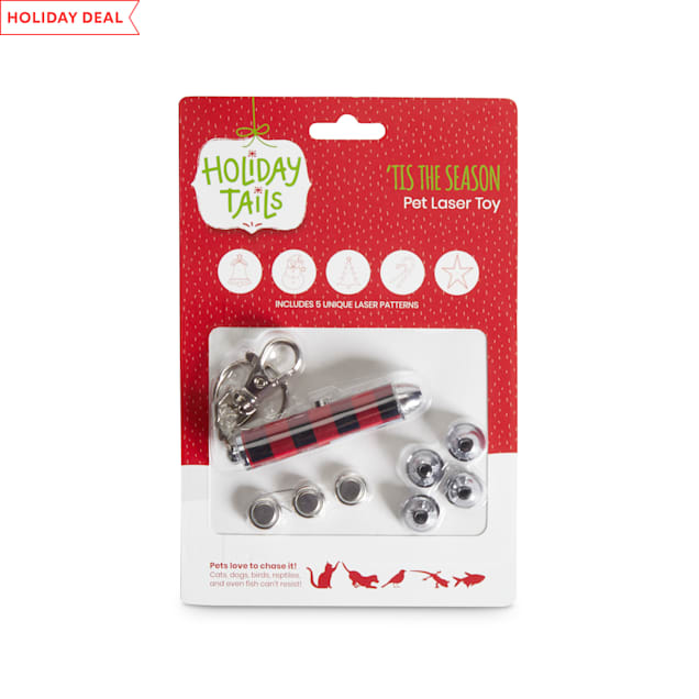 Holiday Tails 'Tis The Season Pet Laser Toy, Various Styles - Carousel image #1