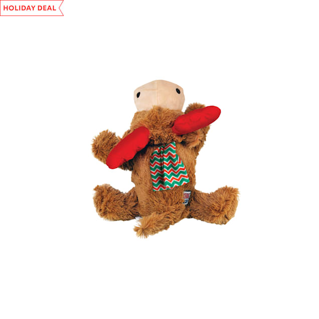 KONG Cozie Reindeer Dog Toy, Small - Carousel image #1