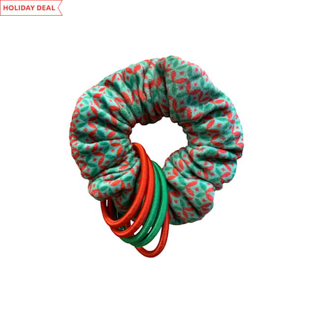 KONG Holiday Cat Active Scrunchie Assorted Toy, Medium - Carousel image #1