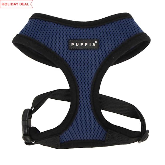 Puppia Royal Blue Soft Dog Harness, X-Small - Carousel image #1