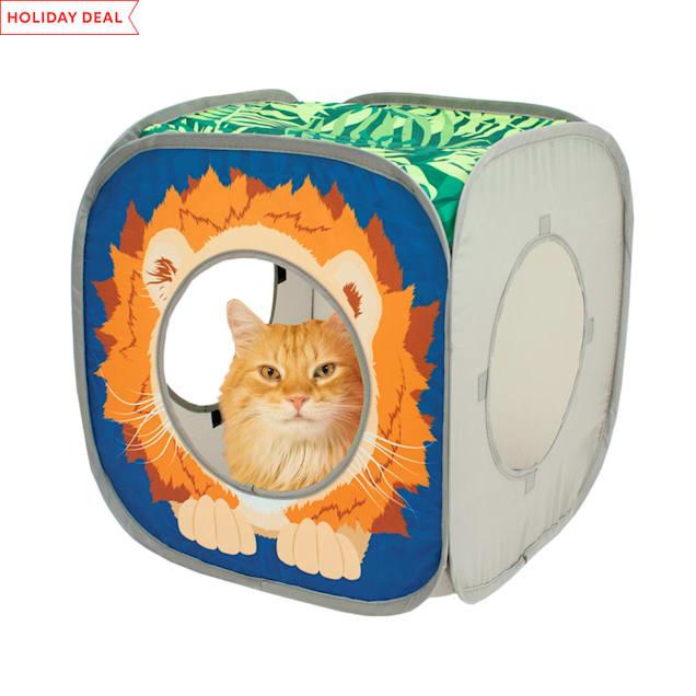"""Kitty City Open Safari Kitty Cube, 15"""" H - Carousel image #1"""