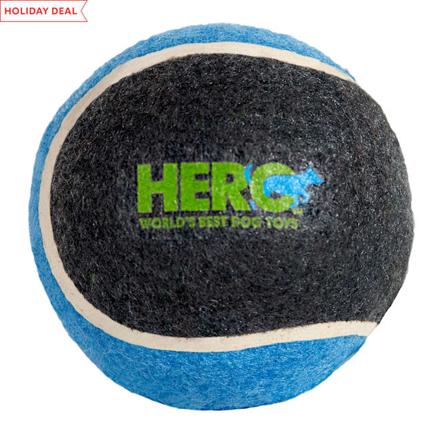 Hero Action Solid Tennis Ball Dog Toy, Small - Carousel image #1