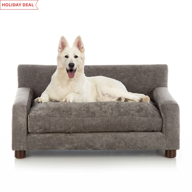 "Club Nine Pets Charcoal Metro Orthopedic Dog Bed, 18"" L X 26"" W - Carousel image #1"