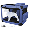 """Pet Gear Generation II Lavender Deluxe Portable Soft Dog Crate, 29.5"""" L X 22"""" W X 24"""" H - Thumbnail-1"""