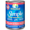 Wellness Simple Natural Limited Ingredient Grain Free Canned Dog Food, Whitefish & Potato, 12.5 oz., Case of 12 - Thumbnail-1
