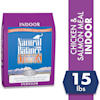 Natural Balance Indoor Ultra Chicken Meal, Brown Rice, Oat Groats, Salmon Meal & Pea Fiber Dry Cat Food, 15 lbs. - Thumbnail-2