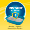 Purina Tidy Cats Clumping Instant Action Multi Cat Litter, 35 lbs. - Thumbnail-2