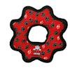 Tuffy's Red Paw Print Ultimate Gear Ring Tug Dog Toy, Medium - Thumbnail-1