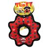 Tuffy's Red Paw Print Ultimate Gear Ring Tug Dog Toy, Medium - Thumbnail-3