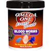 Omega One Freeze Dried Blood Worms, .46 oz. - Thumbnail-1