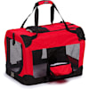 """Pet Life Folding Deluxe 360 Vista View House Carrier in Red, 23"""" L X 16"""" W X 16"""" H - Thumbnail-1"""