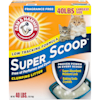 Arm & Hammer Super Scoop Fragrance Free Baking Soda Clumping Litter, 40 lbs. - Thumbnail-1