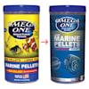 Omega One Garlic Marine Large Sinking Pellets, 9 oz. - Thumbnail-2