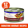 Wellness CORE Signature Selects Natural Grain Free Chunky Beef & Chicken Wet Cat Food, 2.8 oz., Case of 12 - Thumbnail-2
