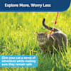 PetSafe Gentle Leader Come with Me Kitty Harness & Bungee Leash in Red, Large - Thumbnail-6