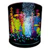 "GloFish Half-Moon Bubbling With Blue LED Bubbler Aquarium Kit 3 Gallons, 12.9"" W x 12.5"" H. - Thumbnail-2"