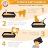 Arm & Hammer Clump & Seal Complete Odor Sealing Cat Litter, 19 lbs. - Thumbnail-3