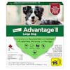 Advantage II Once-A-Month Topical Flea Treatment for Dogs & Puppies 21 to 55 lbs., Pack of 4 - Thumbnail-1
