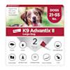 K9 Advantix II Topical Large Dog Flea & Tick Treatment, Pack of 2 - Thumbnail-1